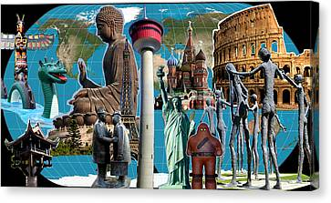Well-knowns In My World Canvas Print