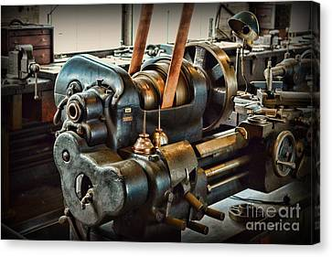 Well Oiled Machinery Canvas Print by Paul Ward