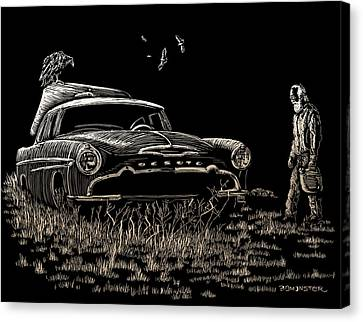 Went For Gas Canvas Print by Bomonster