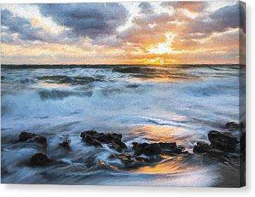 we're All III Canvas Print by Jon Glaser
