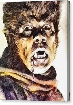 Werewolf Of London 1935, Vintage Horror Canvas Print