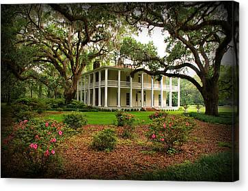 Wesley House Canvas Print by Sandy Keeton