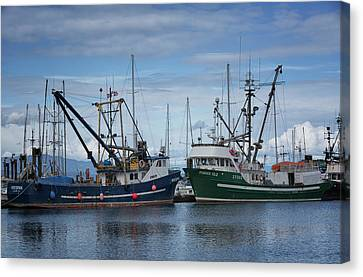 Wespak And Pender Isle Canvas Print by Randy Hall