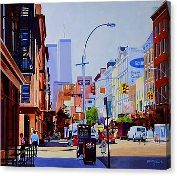 West Broadway Canvas Print by John Tartaglione