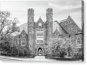 West Chester University Philips Hall Canvas Print