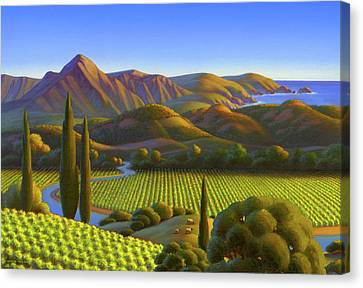 West Coast Dreaming Canvas Print by Robin Moline