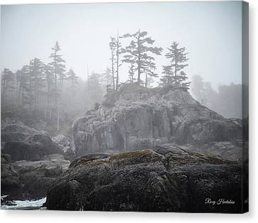 West Coast Landscape Ocean Fog IIi Canvas Print