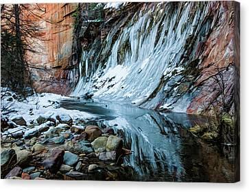 West Fork 07-040 Canvas Print by Scott McAllister
