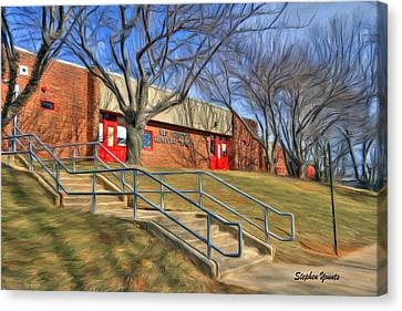 West Friendship Elementary School Canvas Print by Stephen Younts