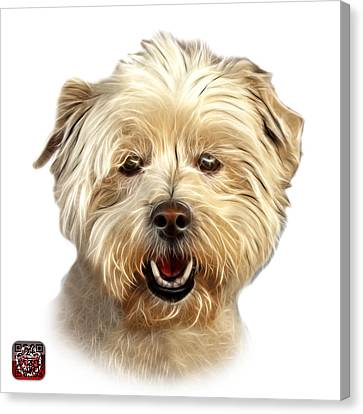West Highland Terrier Mix - 8674 - Wb Canvas Print by James Ahn