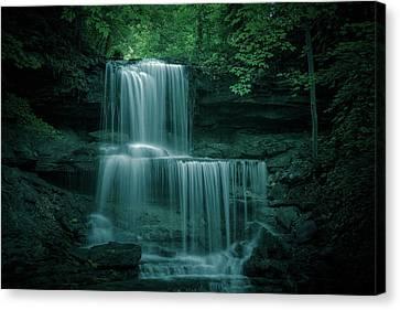 West Milton Ohio Waterfall Canvas Print