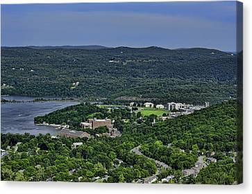 West Point From Storm King Overlook Canvas Print