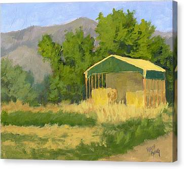 West Point Hay Shed Canvas Print