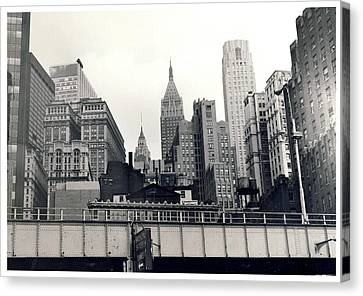 West Side Highway Canvas Print
