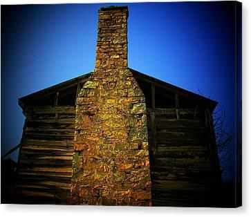 West Virginia Chimney Canvas Print by Michael L Kimble