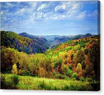 West Virginia Canvas Print by Mark Allen