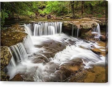 West Virginia Waterfall - Mash Fork Falls Canvas Print