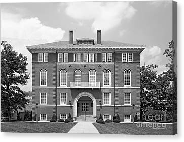 West Viriginia University Chitwood Hall Canvas Print by University Icons