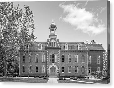 West Viriginia University Martin Hall Canvas Print by University Icons