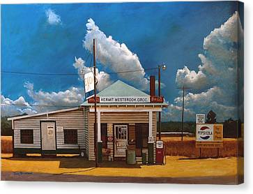 Westbrook Country Store Canvas Print by Doug Strickland