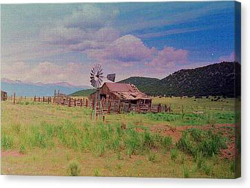 Westcliff Colorado Canvas Print