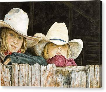 Western Daydreams  Canvas Print