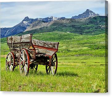 Canvas Print featuring the photograph Western Exposure by Blair Wainman