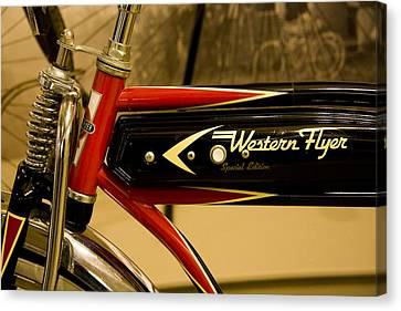 Western Flyer Canvas Print by Michael Friedman