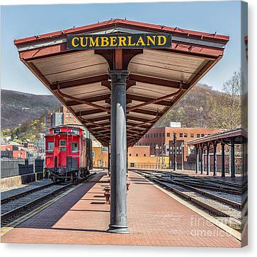 Western Maryland Railway Station Canvas Print by Jerry Fornarotto