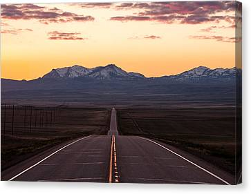 Western Morning Commute Canvas Print