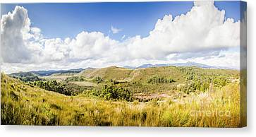 Western Tasmania Panorama Canvas Print by Jorgo Photography - Wall Art Gallery