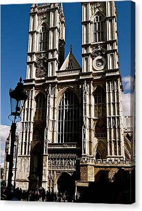 Westminster Abbey Canvas Print by Ira Shander