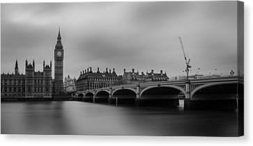 Prime Canvas Print - Westminster Bridge London by Martin Newman