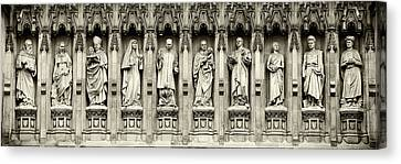 Canvas Print featuring the photograph Westminster Martyrs Memorial - 1 by Stephen Stookey