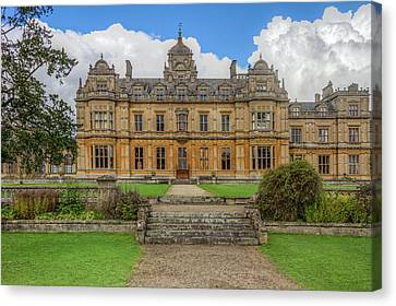Canvas Print featuring the photograph Westonbirt School For Girls by Clare Bambers