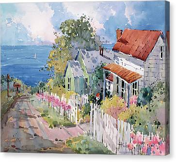 Westport By The Sea Canvas Print