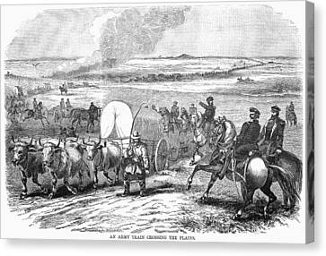 Westward Expansion, 1858 Canvas Print by Granger