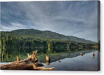Canvas Print featuring the photograph Westwood Lake by Randy Hall