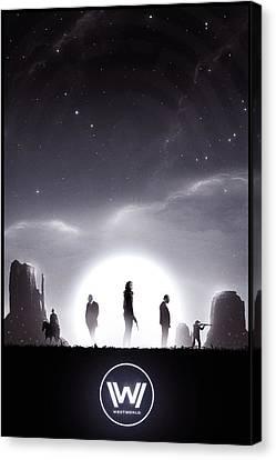 Dolores Canvas Print - Westworld by Colin Morella