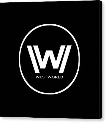 Westworld Logo Canvas Print
