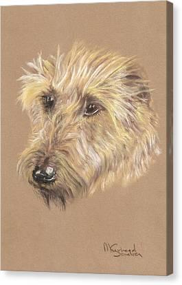 Wet Beard Canvas Print