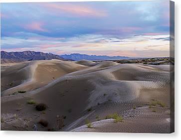 Wet Dunes Canvas Print by Chad Dutson