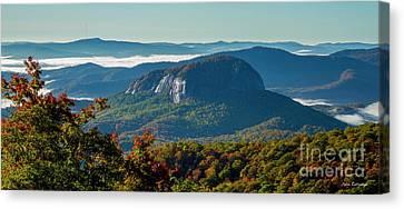 Smokey Mountains Canvas Print - Wet Reflections Looking Glass Rock Art Blue Ridge Parkway Art by Reid Callaway