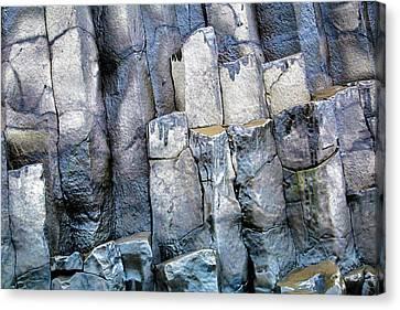 Canvas Print featuring the photograph Wet Rocks 2 by Hitendra SINKAR