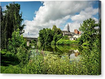 Canvas Print featuring the photograph Wetzlar Germany by David Morefield