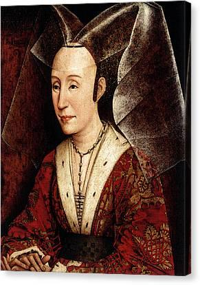 Weyden Isabella Of Portugal Canvas Print