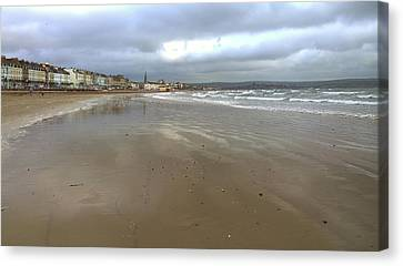 Weymouth Morning Canvas Print by Anne Kotan