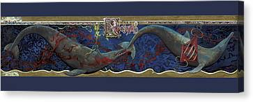 Whale Canvas Print - Whale Music by Martin Tielli