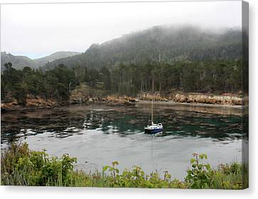 Whalers Cove Canvas Print - Whaler's Cove by Art Block Collections