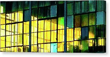 Wharehouse Windows Canvas Print